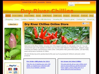 Dry River Chillies – Produce Retailer