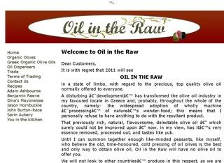 Oil In The Raw